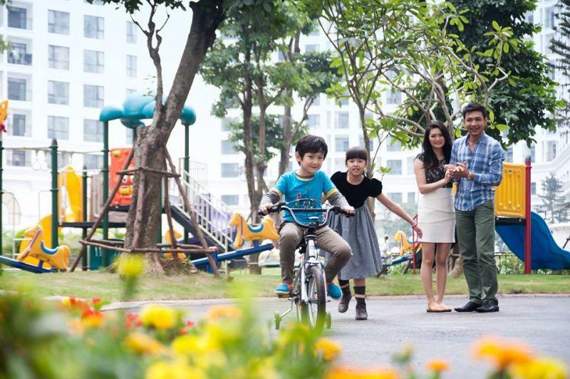 Vinhomes central park tang cang